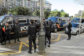Mehr Polizei auf Mallorca wegen Osterbesuch des Königs