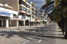 Neue Strandpromenade in Port de Pollença fast fertig