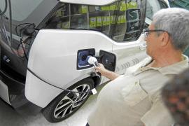 """So werden auf Mallorca die Elektro-Autos """"betankt"""""""