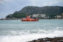 Verschollenes Boot: Segelreste vor Formentor