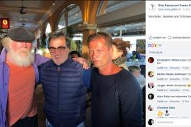 Nick Nolte und Til Schweiger posieren in Puerto Portals