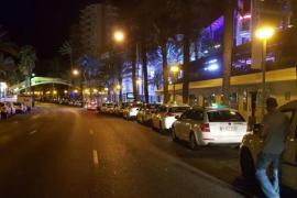 Mann zieht Pistole auf Palmas Paseo Marítimo