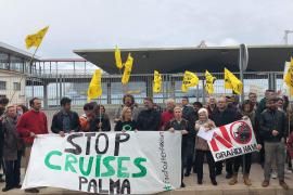 Anti-Kreuzfahrt-Protest fällt klein aus