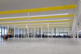 Der neue Terminal Nummer 6 am Westkai in Palmas Hafen.