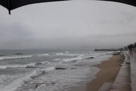 Verregnetes Wochenende auf Mallorca steht bevor