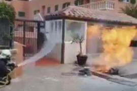 Ein Verletzter durch Gasverpuffung in Santa Ponça