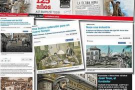 Impressionen der Sonderbeilage 125 Jahre Ultima Hora.