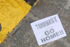"""Mit Flugblättern: Kampagne gegen """"zu viele"""" Touristen"""