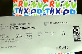 Tippfehler auf dem Mallorca-Ticket können teuer werden