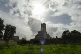 Wolken und Sonne über Mallorca.