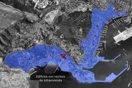 Palma de Mallorca investiert in Elendsblöcke am Meer