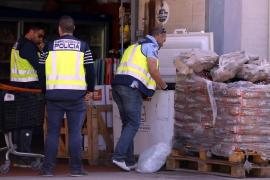 Gammelfleisch-Razzia auf Mallorca.