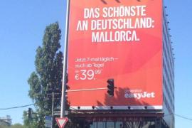 Easyjet sieht Mallorca als Teil von Deutschland