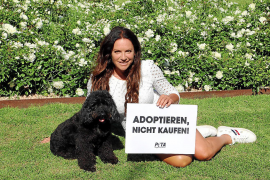 Christine Neubauer engagiert sich für Tierheim-Hunde