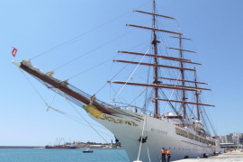 Pure Eleganz: Sea Cloud II macht Station in Palma