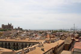 Panoramablick im neuen Gourmet-Club auf Mallorca.