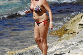 Die Franco-Enkelin in den Sommerferien auf Mallorca.