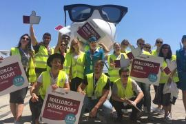 Eurowings feiert ersten Geburtstag auf Mallorca