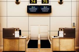 Hälfte der Check-in-Schalter am Airport Palma erneuert
