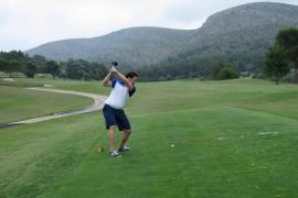 Golfer beim MM-Frühlings-Cup in Alcanada auf der Runde
