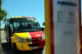 Shuttle-Busse nach Cala Llombards und S'Almunia