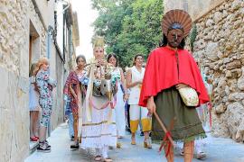 Prozession in Pollença ohne lebendes Lämmchen