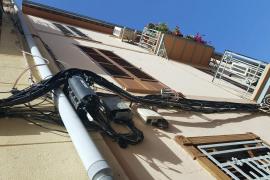 Kabelsalat an Palmas Fassaden soll verschwinden