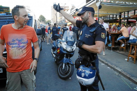 Große Polizeirazzia im Bierkönig