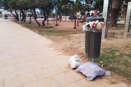 Polizei beklagt Müll an der Playa de Palma