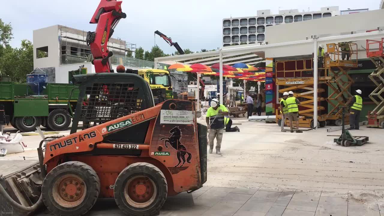 Meliá-Einkaufszentrum in Magaluf soft gestartet