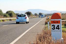 Justiz verzögert Ausbau von Straße Llucmajor-Campos