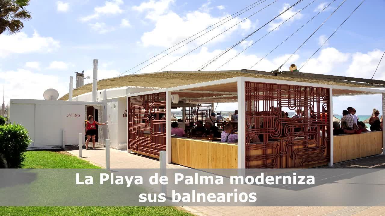 Strandkioske an der Playa de Palma mit neuem Look