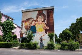Mallorquiner malt für Integrationsprojekt in Italien
