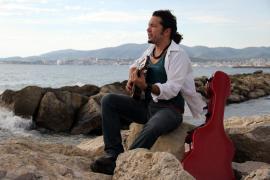 JAGG, ein Musiker, der Lieder angelt