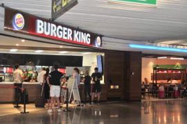 Burger King am Flughafen Palma de Mallorca ausgebaut