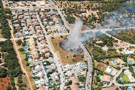 Anwohner von Flächenbrand bei Bunyola bedroht