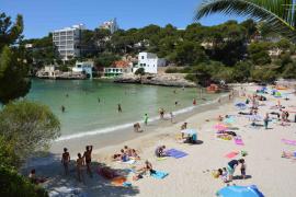 Endlich klares Wasser für die Cala Santanyí