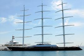 Schwimmender Luxus zu Besuch auf Mallorca
