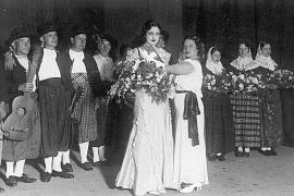 Ein tiefer Griff ins Archiv: Schon 1934 wurde eine Miss Baleares gekürt. Die Beauty-Queen hieß Tina Bosch.