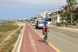 Mehr Sicherheit für Küstenstraße bei Sa Ràpita