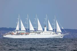 Größter Segler der Welt in Palma