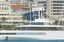 Treffen der Superyachten am Club de Mar