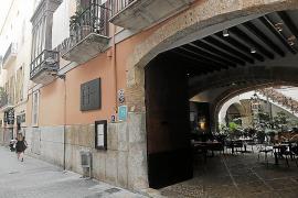 Boutique-Hotels im Zentrum von Palma sind Opfer von Graffiti-Sprayern geworden.