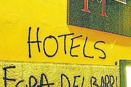 Teure Hotels werden zum Ziel von Graffiti-Sprayern