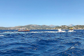 Boot sinkt vor Santa Ponça: Rettung in letzter Minute