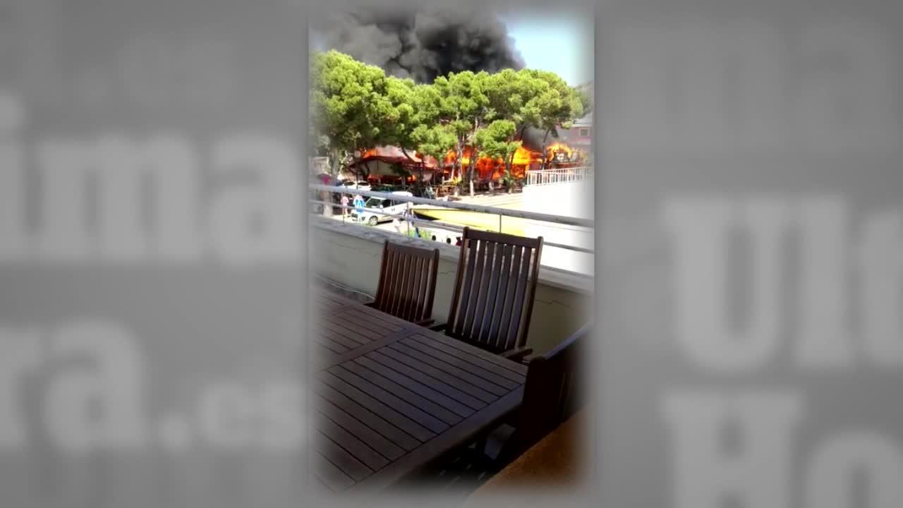 Grill-Restaurant in Cala Rajada brennt völlig aus