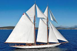 Unter vollen Segeln: Die Germania Nova gehörte 2016 zu den Teilnehmern des Superyacht-Cups in mallorquinischen Gewässern.