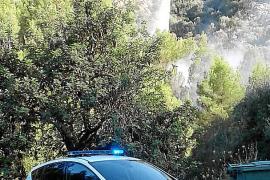 Brand vernichtet Wald bei Autotunnel nach Sóller