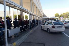 Taxifahrer auf Mallorca machen mobil gegen Uber