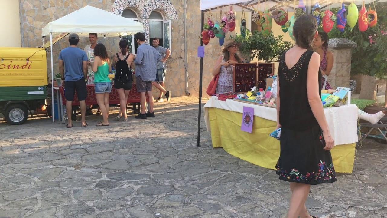 Supertalent-Gewinnerin beim veganen Festival in Esporles